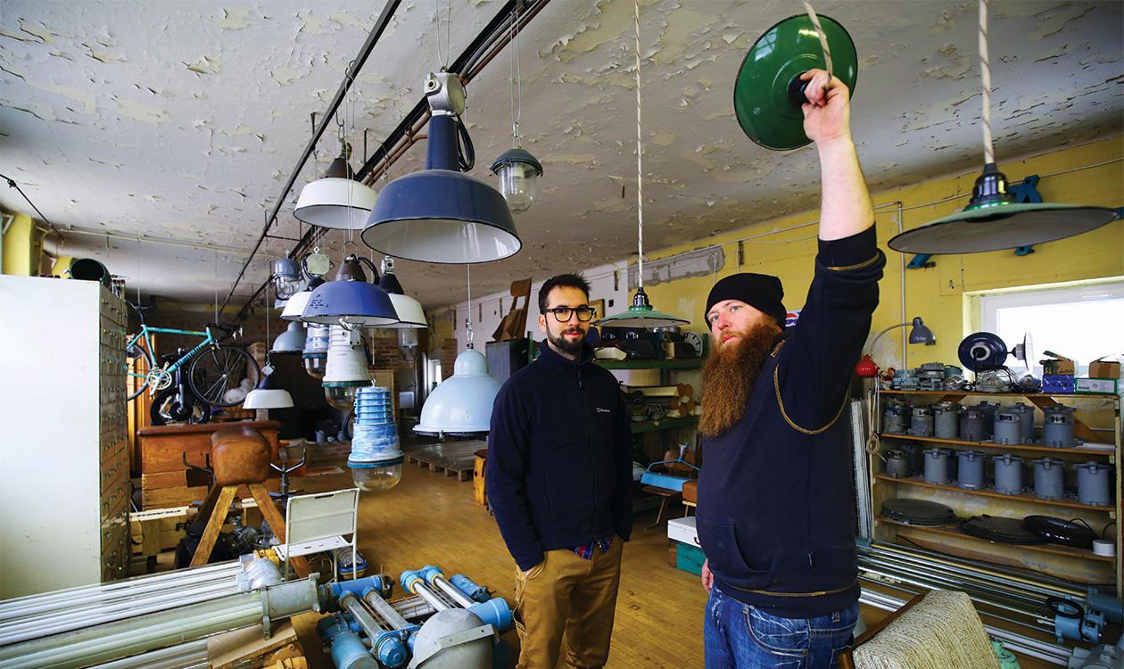 Arteria Industrial: A lámpák második élete